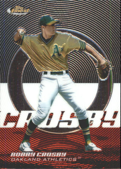 2005 Finest #18 Bobby Crosby