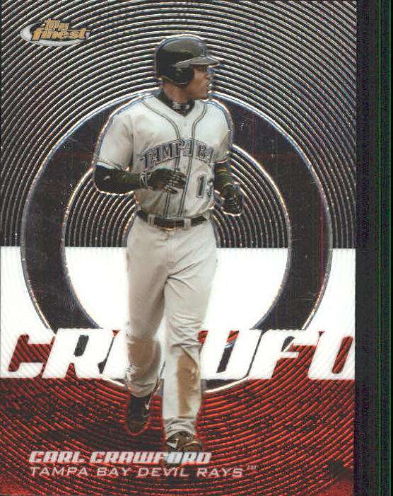 2005 Finest #20 Carl Crawford