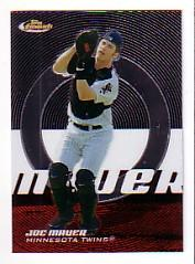2005 Finest #140 Joe Mauer