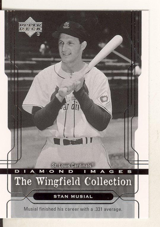 2005 Upper Deck Wingfield Collection #7 Stan Musial