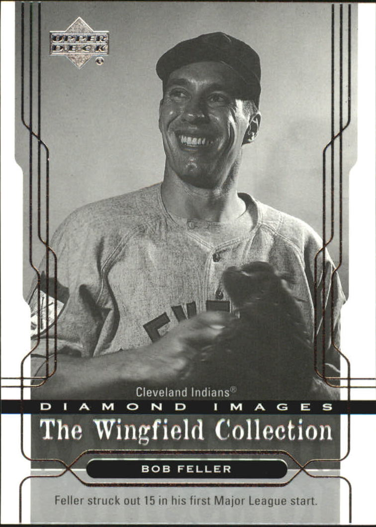 2005 Upper Deck Wingfield Collection #9 Bob Feller
