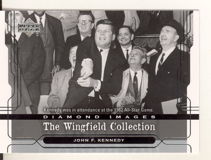 2005 Upper Deck Wingfield Collection #17 John F. Kennedy