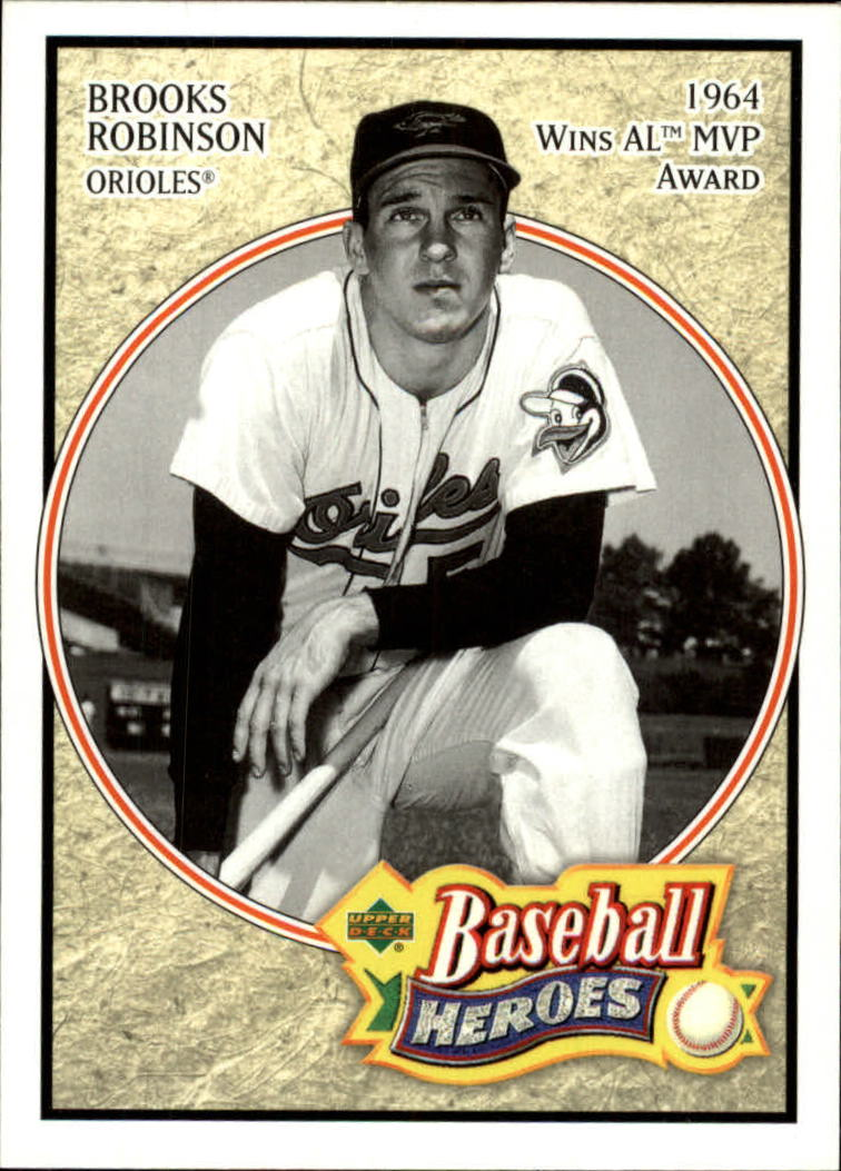 2005 Upper Deck Baseball Heroes #6 Brooks Robinson