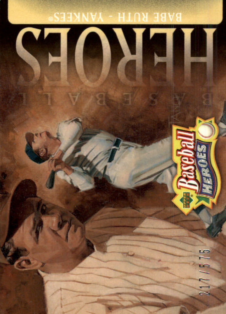2005 Upper Deck Baseball Heroes #105 Babe Ruth Yanks HDR