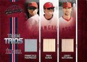 2005 Absolute Memorabilia Team Trios Swatch Single #31 F.Rod/Glaus/Kotch/150