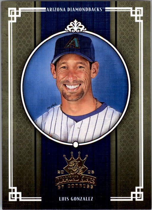 2005 Diamond Kings #17 Luis Gonzalez
