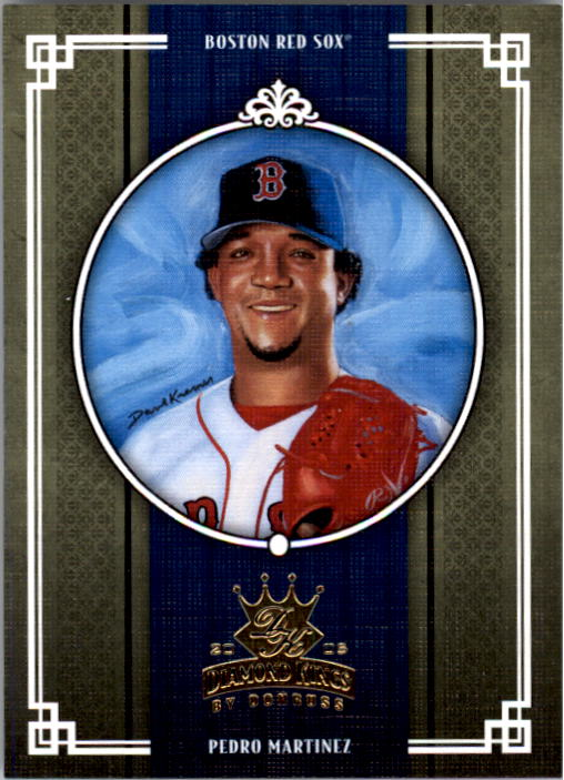 2005 Diamond Kings #41 Pedro Martinez