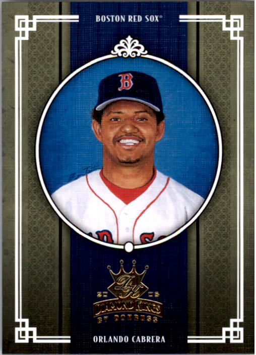 2005 Diamond Kings #44 Orlando Cabrera Sox
