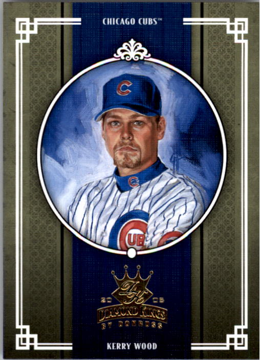 2005 Diamond Kings #47 Kerry Wood
