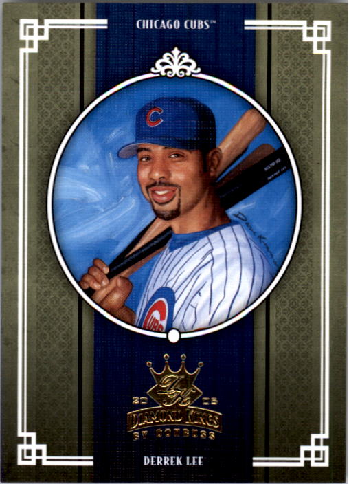 2005 Diamond Kings #52 Derrek Lee