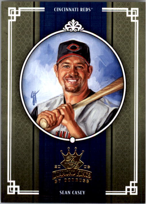 2005 Diamond Kings #74 Sean Casey