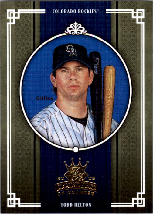 2005 Diamond Kings #84 Todd Helton
