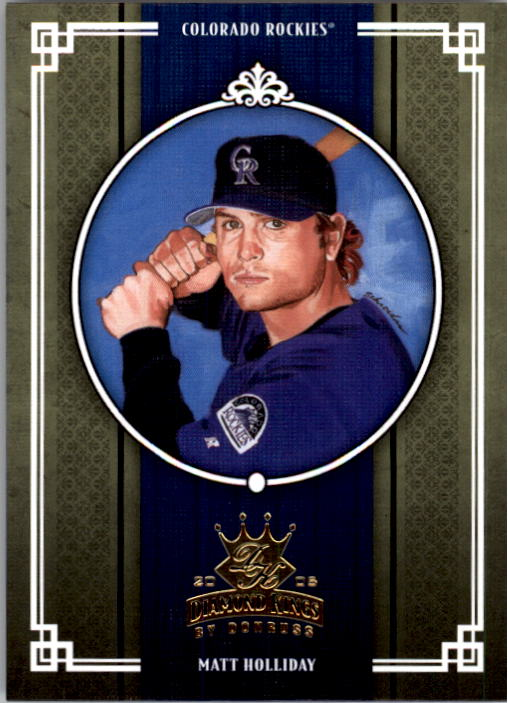 2005 Diamond Kings #86 Matt Holliday