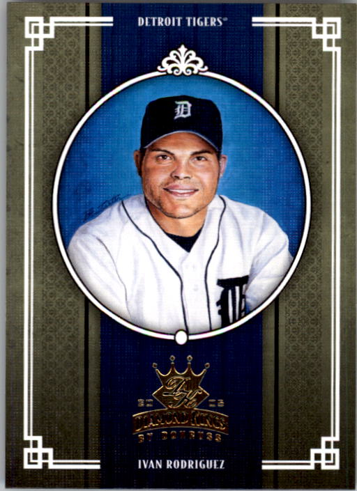 2005 Diamond Kings #90 Ivan Rodriguez Tigers