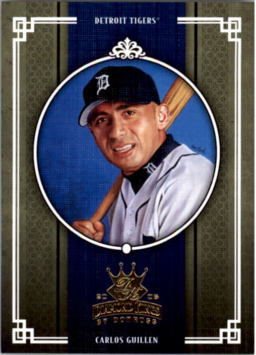 2005 Diamond Kings #91 Carlos Guillen