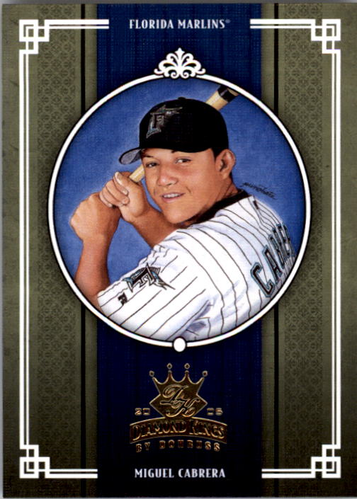 2005 Diamond Kings #95 Miguel Cabrera
