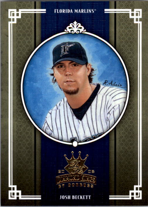 2005 Diamond Kings #96 Josh Beckett