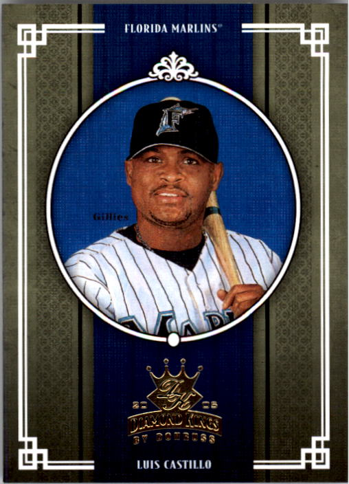 2005 Diamond Kings #98 Luis Castillo