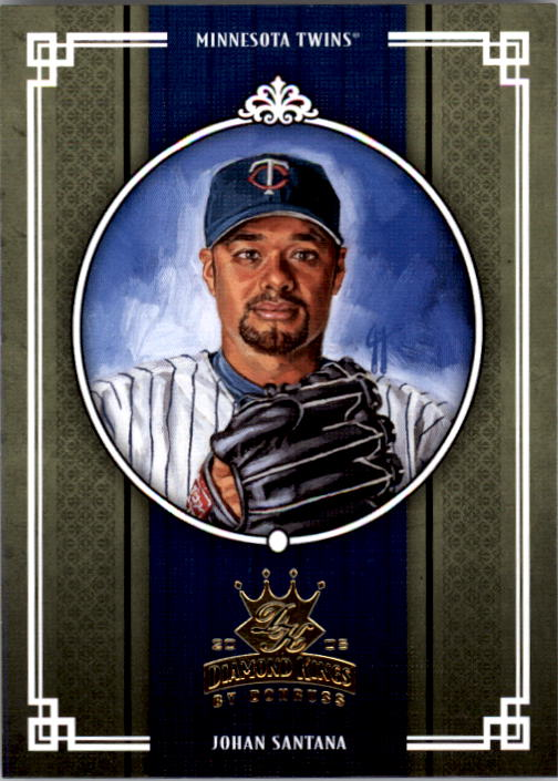 2005 Diamond Kings #131 Johan Santana