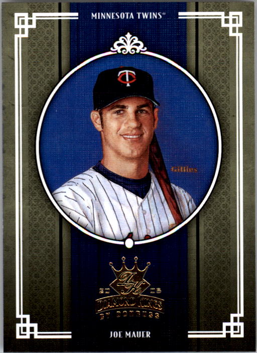 2005 Diamond Kings #133 Joe Mauer