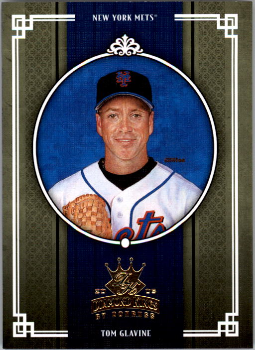 2005 Diamond Kings #141 Tom Glavine
