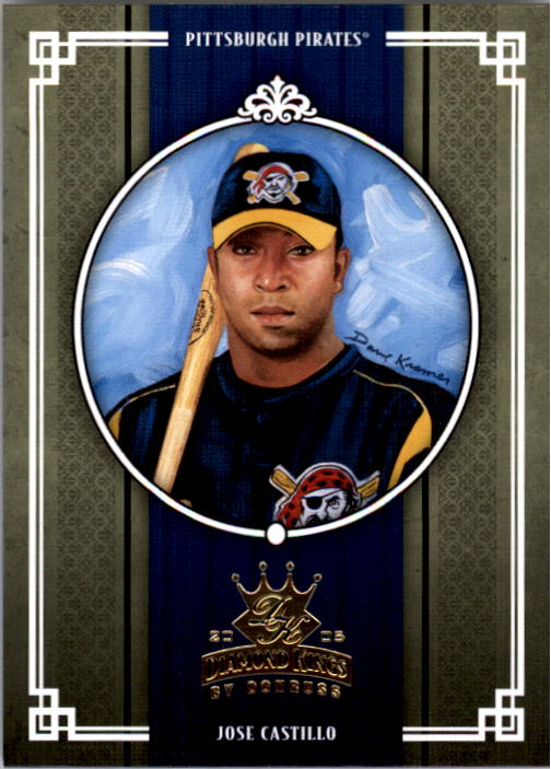 2005 Diamond Kings #181 Jose Castillo