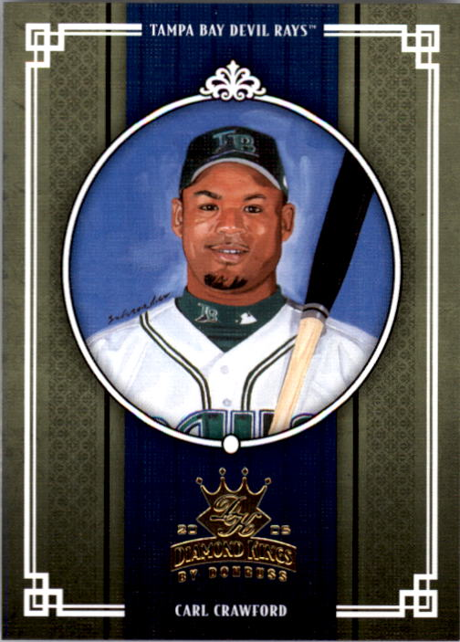 2005 Diamond Kings #221 Carl Crawford