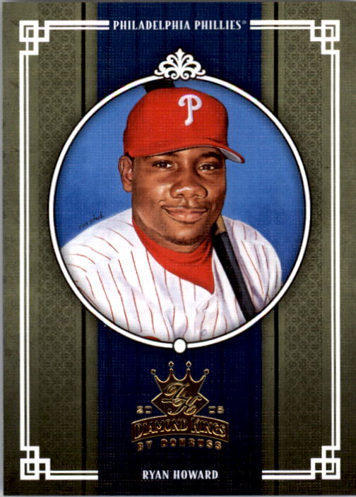 2005 Diamond Kings #249 Ryan Howard