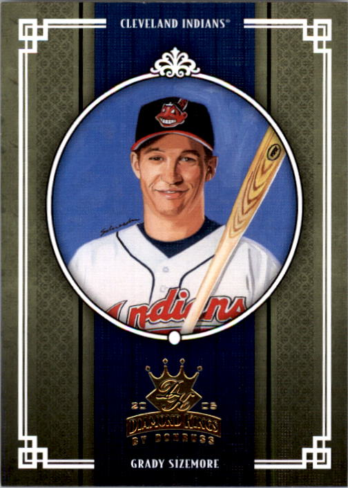 2005 Diamond Kings #262 Grady Sizemore