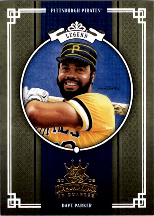 2005 Diamond Kings #297 Dave Parker