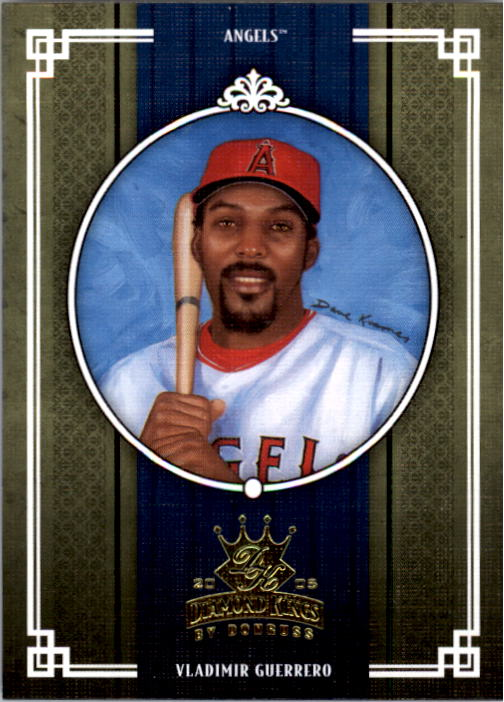 2005 Diamond Kings #302 Vladimir Guerrero Angels