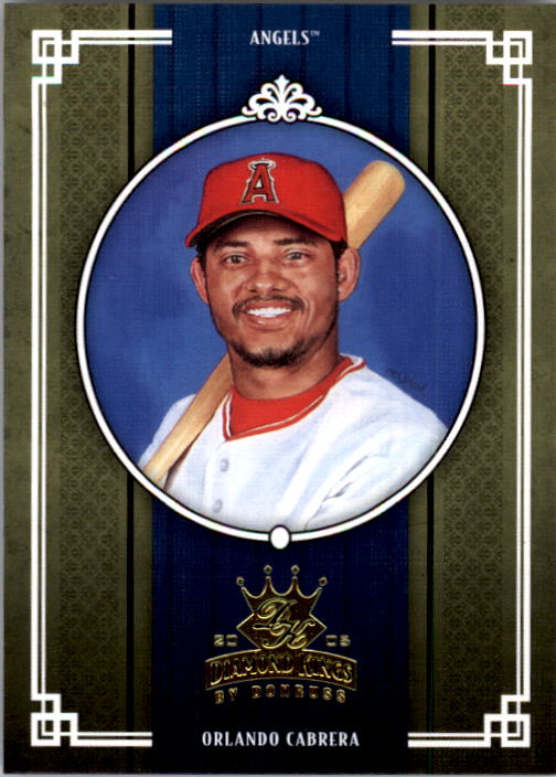 2005 Diamond Kings #305 Orlando Cabrera