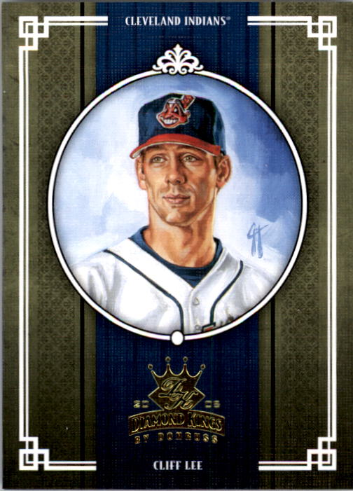 2005 Diamond Kings #341 Cliff Lee