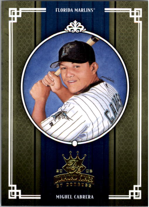2005 Diamond Kings #347 Miguel Cabrera