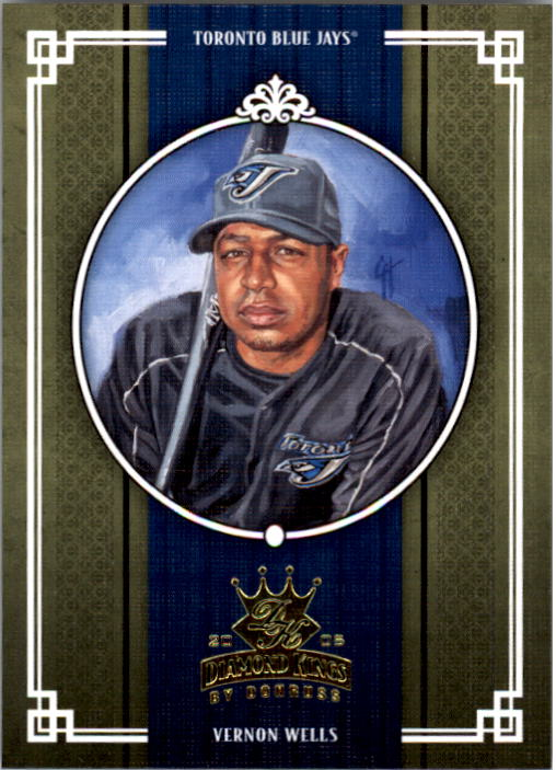 2005 Diamond Kings #406 Vernon Wells