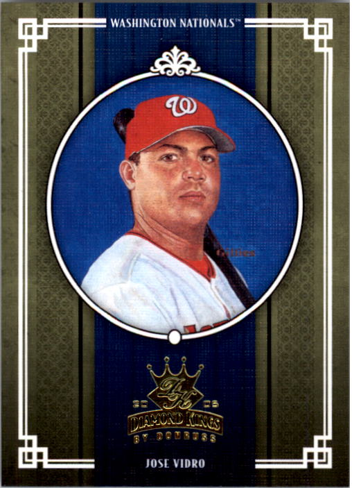 2005 Diamond Kings #412 Jose Vidro
