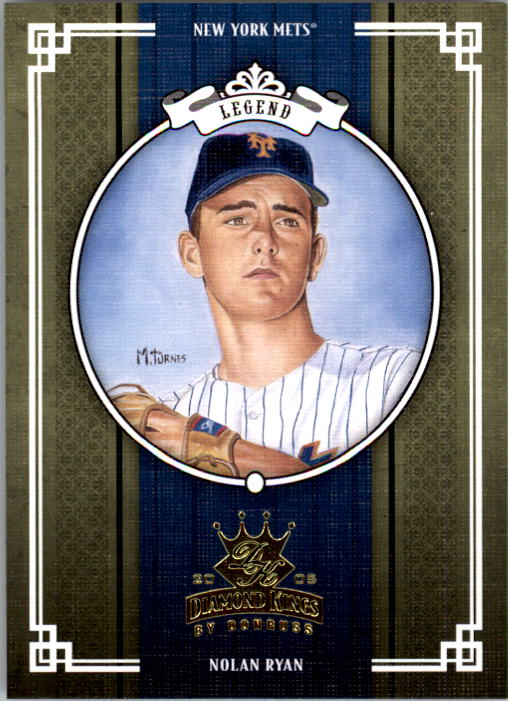 2005 Diamond Kings #437 Nolan Ryan