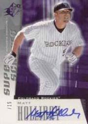 2005 SPx Superscripts #MH Matt Holliday