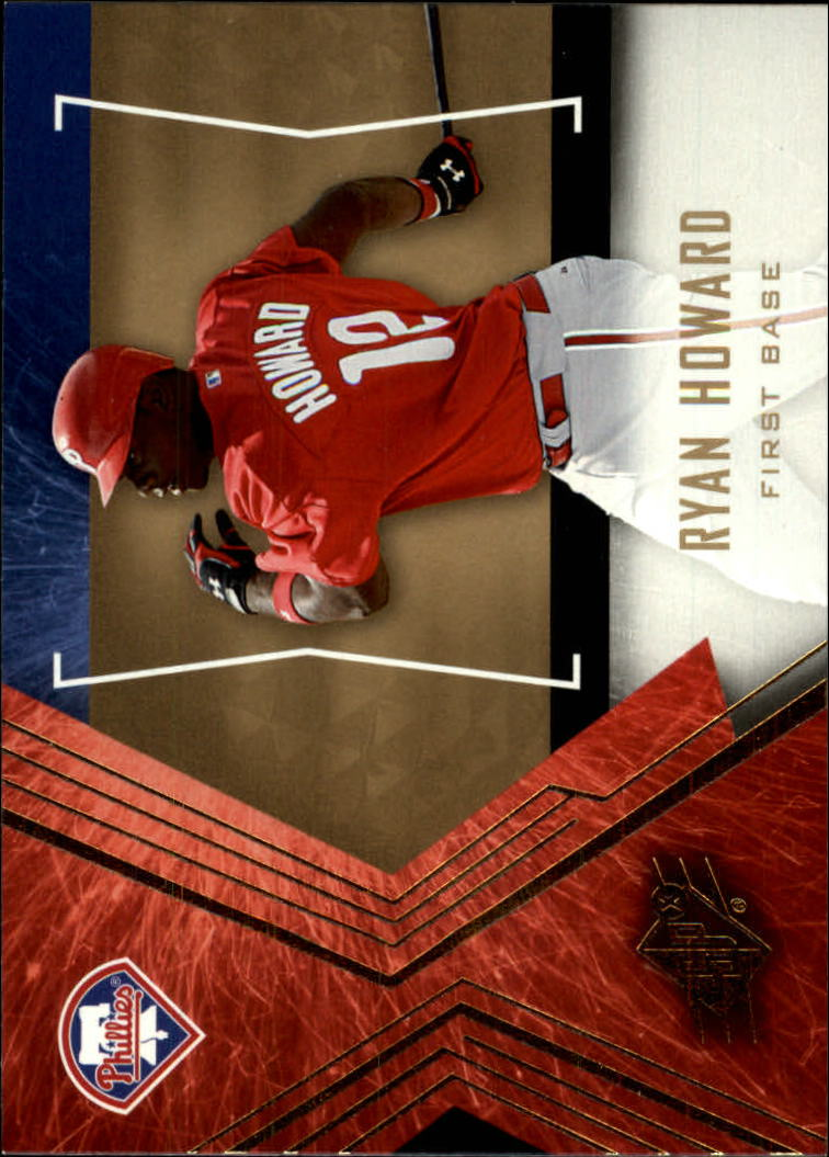 2005 SPx #90 Ryan Howard