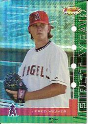 2005 Bowman's Best Green #36 Jered Weaver FY