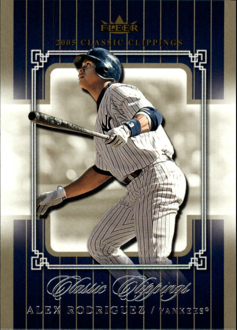 2005 Classic Clippings #75 Alex Rodriguez