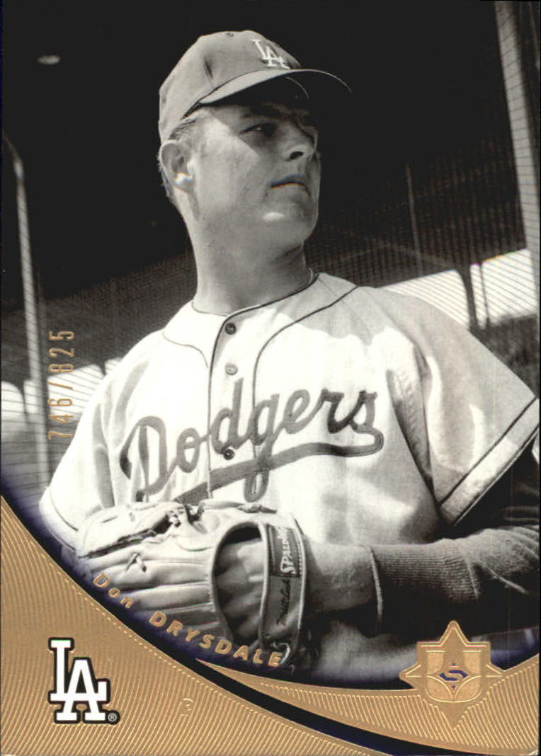2005 Ultimate Signature #10 Don Drysdale