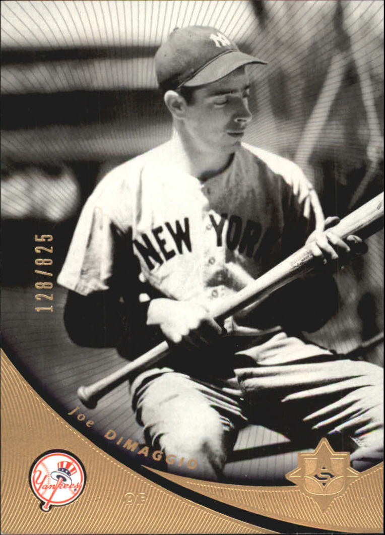 2005 Ultimate Signature #20 Joe DiMaggio front image