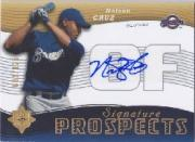 2005 Ultimate Signature #160 Nelson Cruz AU RC