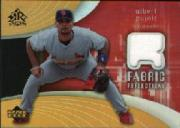 2005 Reflections Fabric Jersey #AP Albert Pujols