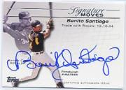 2005 Topps Update Signature Moves #BS Benito Santiago E