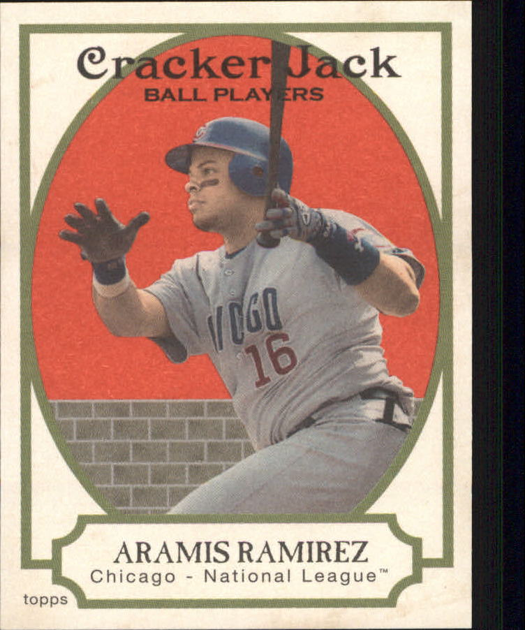 2005 Topps Cracker Jack Mini Red #96 Aramis Ramirez