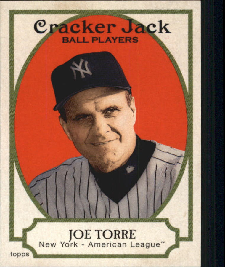 2005 Topps Cracker Jack Mini Stickers #12 Joe Torre MG