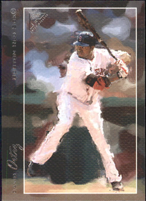 2005 Topps Gallery #88 David Ortiz