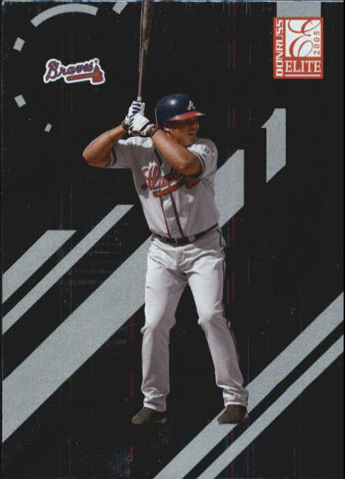 2005 Donruss Elite #11 Andruw Jones